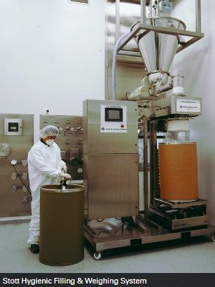 Hosokawa Micron Powder Systems - STOTT HYGIENIC FILLING & WEIGHING SYSTEM
