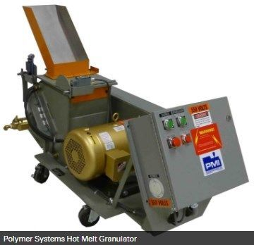 Hosokawa Micron Powder Systems - POLYMER SYSTEMS HOT MELT GRANULATOR