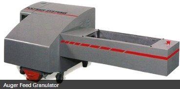 Hosokawa Micron Powder Systems - POLYMER SYSTEMS AUGER FEED GRANULATOR