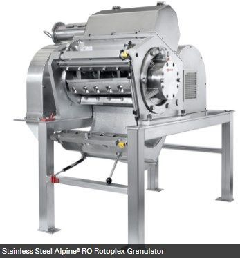 Hosokawa Micron Powder Systems - ALPINE RO ROTOPLEX GRANULATOR