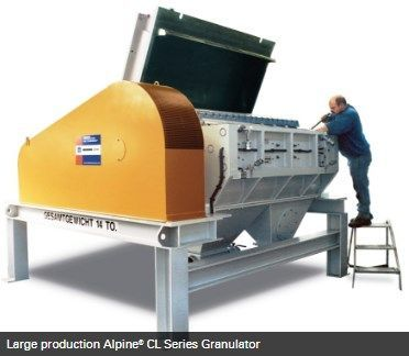 Hosokawa Micron Powder Systems - ALPINE CL SERIES GRANULATOR