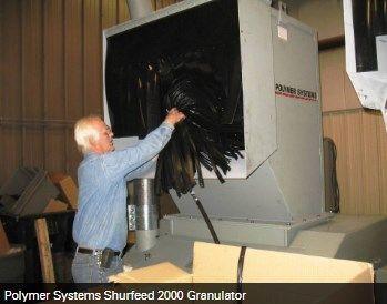 Hosokawa Micron Powder Systems - POLYMER SYSTEMS SHURFEED 2000 GRANULATOR