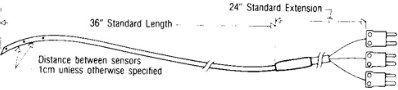 Physitemp - IT SERIES FLEXIBLE TEFLON PROBES