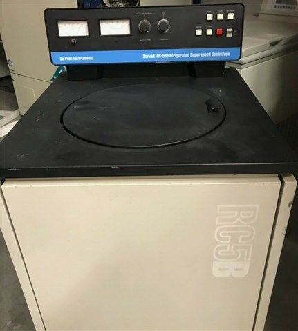 Sorvall - RC-5B Refrigerated Superspeed Centrifuge With Extra Rotors