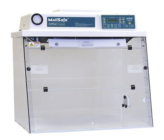 Clean Air Products - MailSafe Ductless Class 1 Mail Handling Workstation