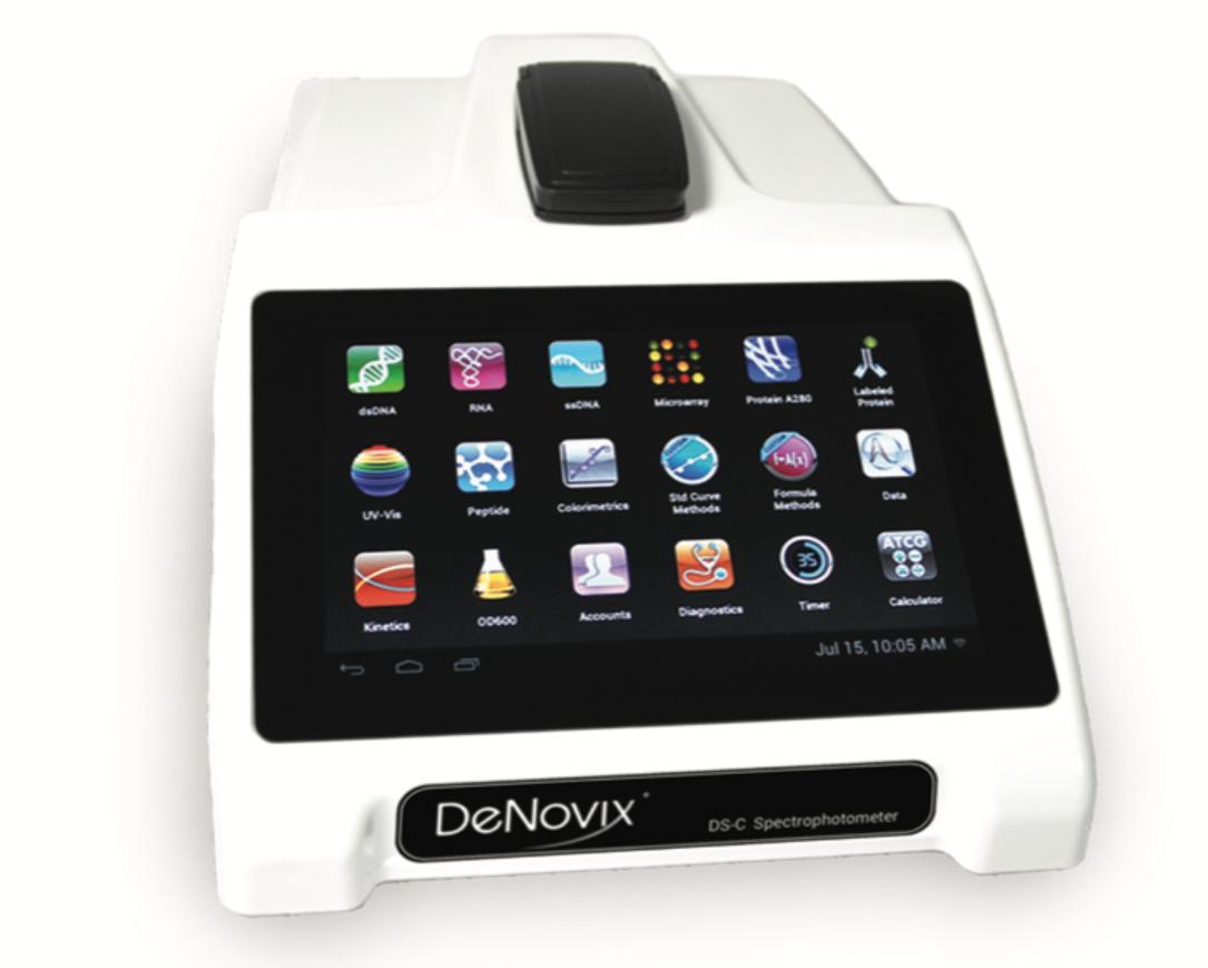 DeNovix Inc. - DS-C Cuvette Spectrophotometer