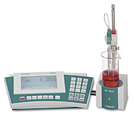 Metrohm - High-precision 780 pH Meter