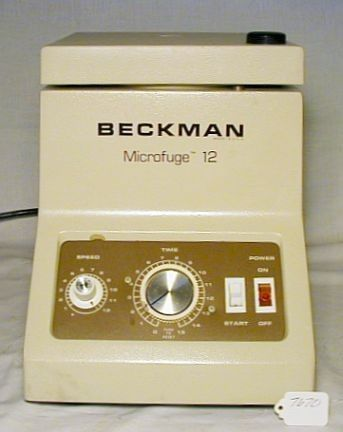 Beckman Coulter - Microfuge 12