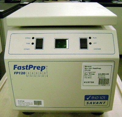 Savant Instruments - Bio 101 FastPrep FP120-120V