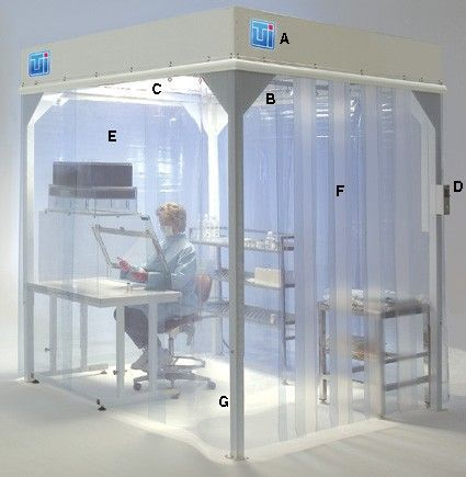Terra Universal - Softwall Modular Cleanroom