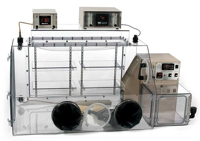 Coy Laboratory Products - O2 Control Glove Boxes and Cabinets