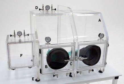 Terra Universal - Series 210 Vacuum Glove Box