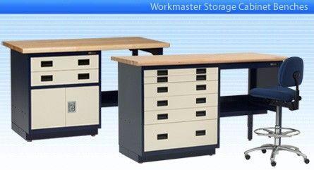 IAC Industries - Workmaster™ Storage Cabinet Workbenches