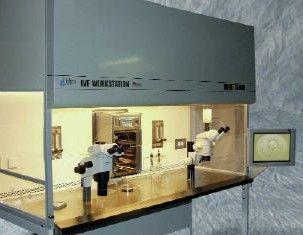 MidAtlantic Diagnostics - 6-Foot Dual Scope IVF Workstation